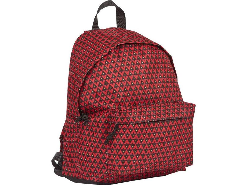 Рюкзак №1 School Треугольники Red-Black 678901