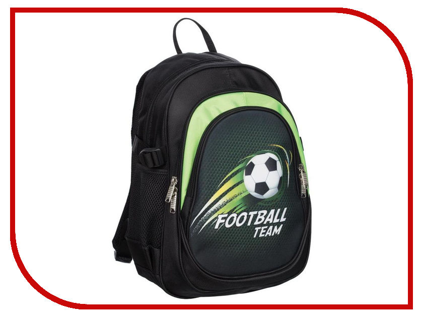 Рюкзак №1 School Football Team 678873 ozuko multi functional men backpack waterproof usb charge computer backpacks 15inch laptop bag creative student school bags 2018