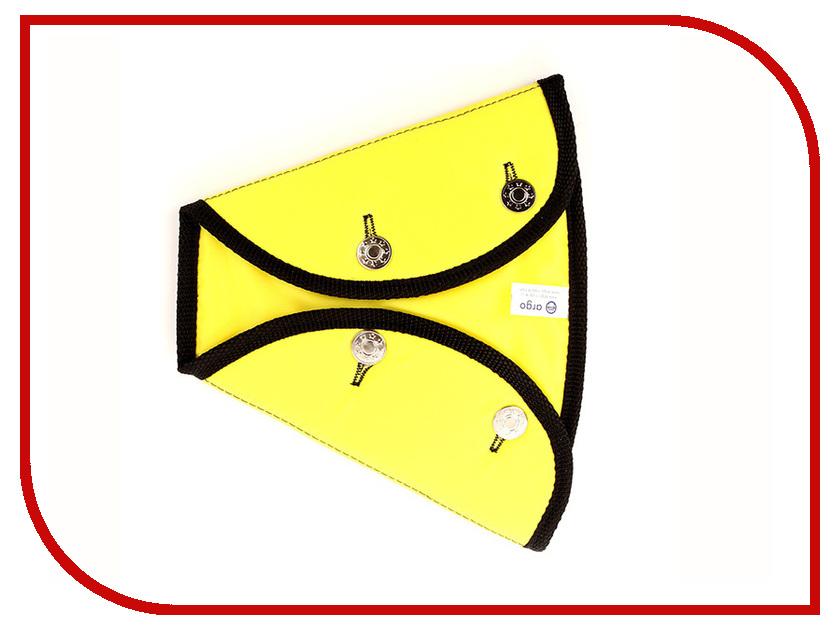 Аксессуар Адаптер для ремня безопасности Арго ДУУ1-15 Крепыш Детский 2-крылый Yellow жилет арго жскл 2 класс 2 р 2xl lemon