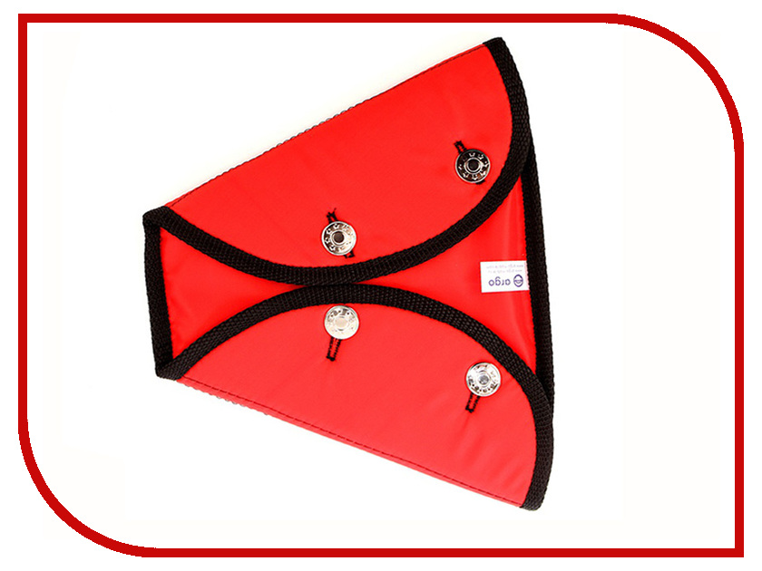 Аксессуар Адаптер для ремня безопасности Арго ДУУ1-15 Крепыш Детский 2-крылый Red жилет арго жскл 2 класс 2 р 2xl lemon