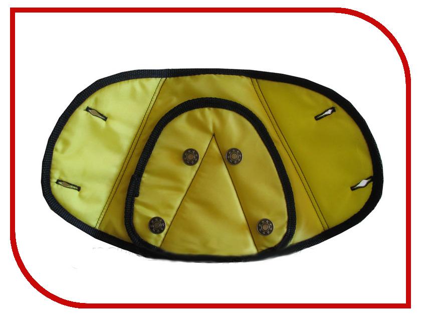 Адаптер для ремня безопасности Арго ДУУ2-15 Крепыш Детский 4-крылый Yellow