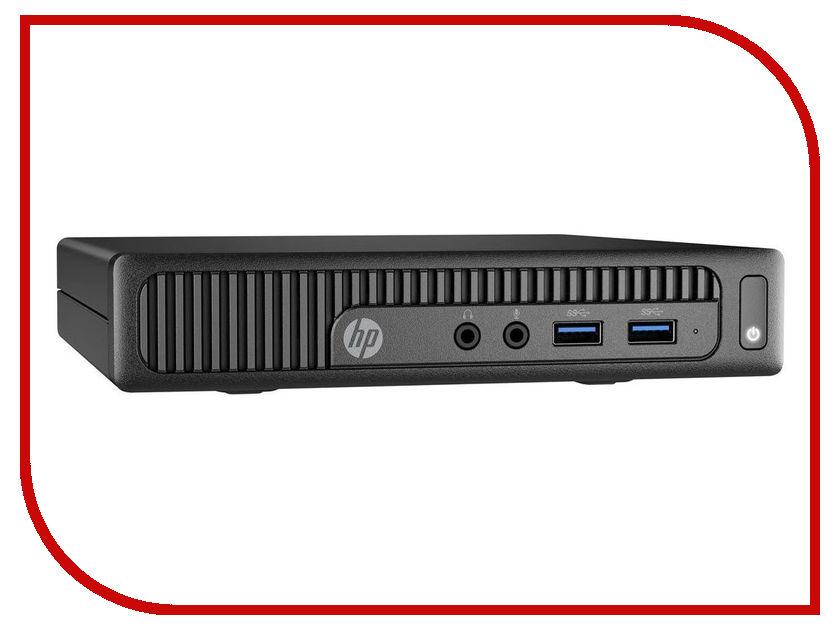 Настольный компьютер HP 260 G2 Mini Black 3KU81ES (Intel Celeron 3855U 1.6 GHz/4096Mb/128Gb SSD/Intel HD Graphics/Wi-Fi/Bluetooth/Windows 10 64-bit)