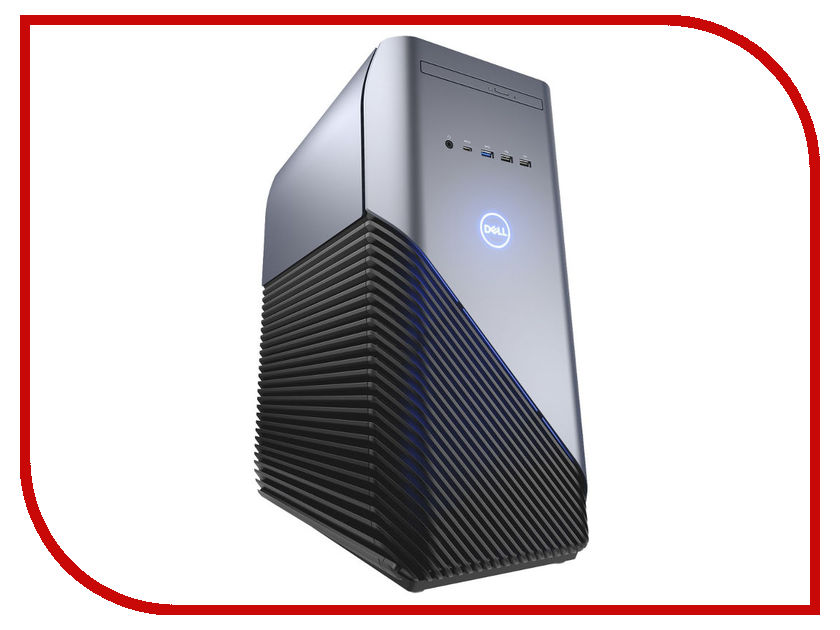 Настольный компьютер Dell Inspiron 5680 MT Silver-Black 5680-7222 (Intel Core i5-8400 2.8 GHz/8192Mb/1000Gb+128Gb SSD/DVD-RW/nVidia GeForce GTX 1060 6144Mb/Wi-Fi/Windows 10 Home 64-bit) ноутбук dell inspiron 5770 core i5 8250u 8gb 1tb 128gb ssd amd 530 4gb 17 3 fullhd dvd linux silver
