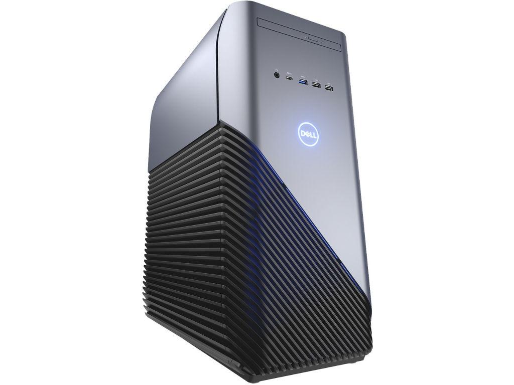 Компъютер Dell Inspiron 5680 MT Silver-Black 5680-7222 (Intel Core i5-8400 2.8 GHz/8192Mb/1000Gb+128Gb SSD/DVD-RW/nVidia GeForce GTX 1060 6144Mb/Wi-Fi/Windows 10 Home 64-bit)