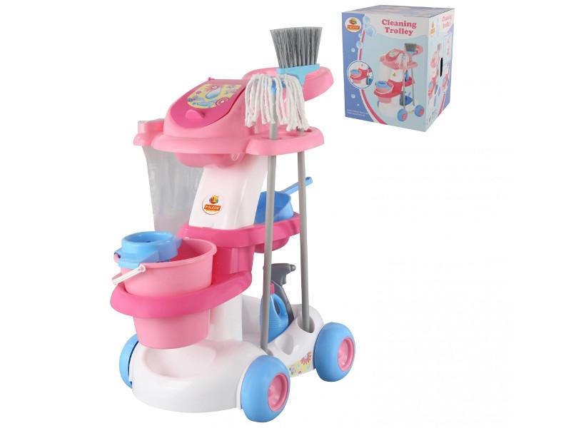 Игровой набор для уборки ПолесьеПомощница-4 58881