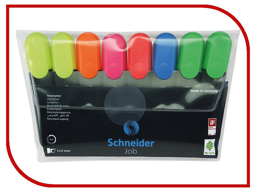Маркер Schneider Job набор 8 цветов Job 115088 hatchet job