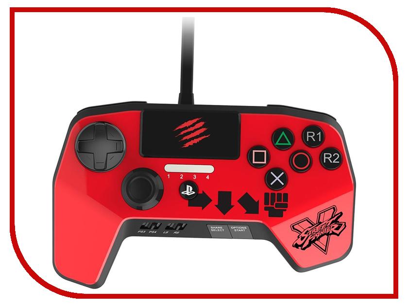 все цены на Mad Catz Street Fighter FightPad PRO for PS 4/3 KEN