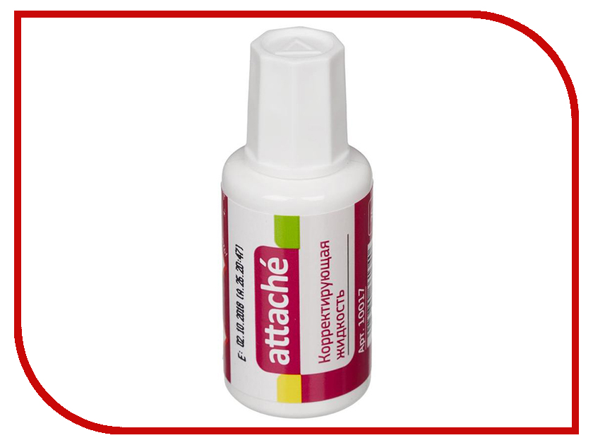 Корректирующая жидкость Attache 20ml 10017 цены онлайн