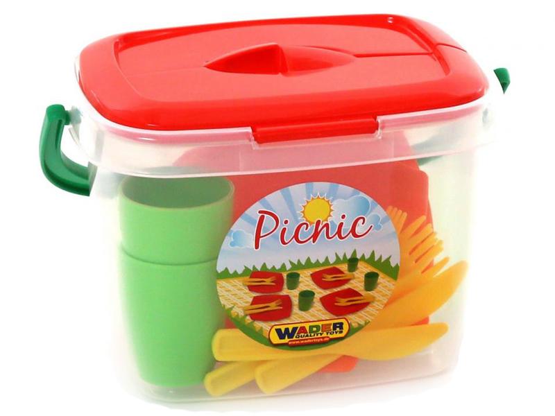 Фото - Набор посуды ПолесьеАлиса для пикника №1 40756 набор полесье infinity premium 1 цвет в ассортименте