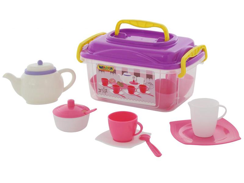 Набор посуды Полесье Алиса 58980 цена 2017