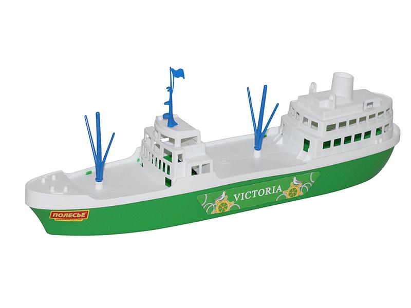 Игрушка Полесье Корабль Виктория 56399 игрушка полесье корабль чайка 36964