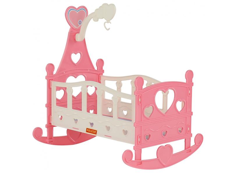 цены Кроватка-качалка для куклы Полесье №3 62079