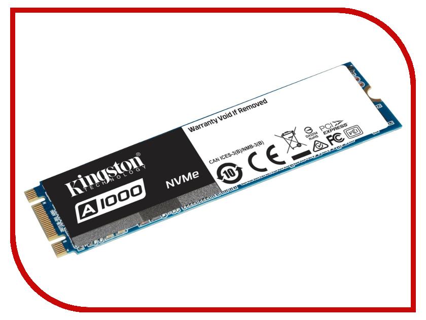 все цены на Жесткий диск 960Gb - Kingston A1000 SA1000M8/960G онлайн