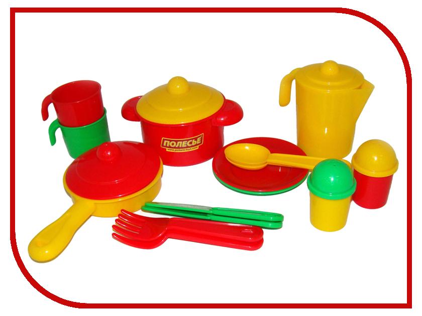 все цены на Игра ПолесьеНабор детской посуды Настенька 3902
