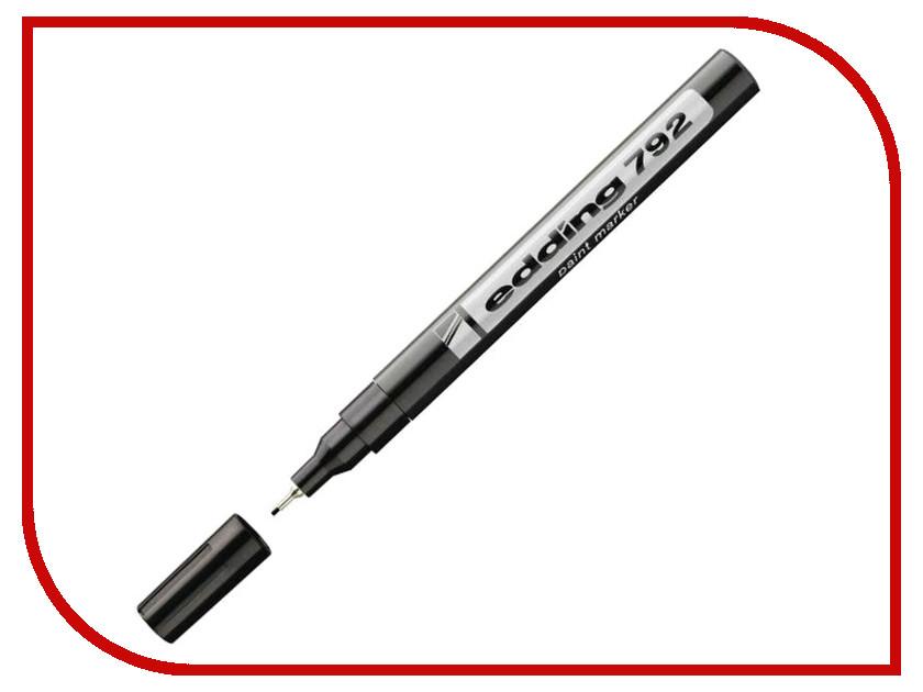 Маркер Edding E-792/1 0.8mm Black 537628 маркер edding e 2000c 1 1 5 3mm black