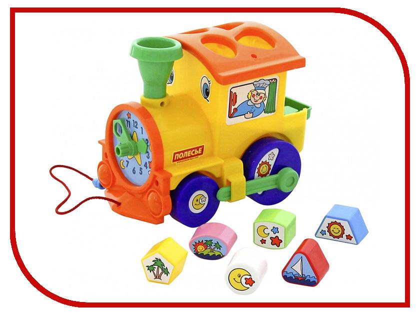 Игрушка Полесье Занимательный паровоз 5977 полесье логика паровоз 6189 полесье
