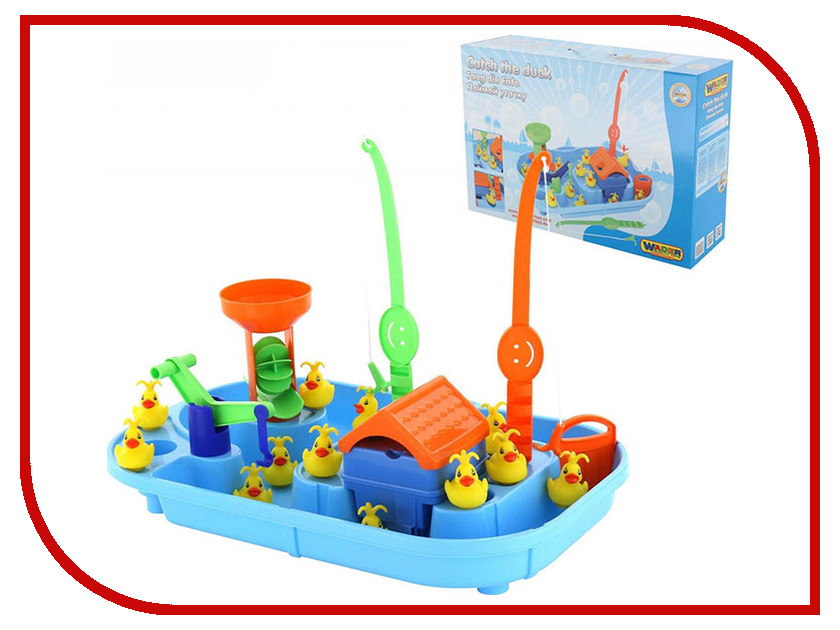 Настольная игра Полесье Игра Поймай уточку для 2-х игроков 40541 игра с водой wader поймай уточку для 4 игроков 40558