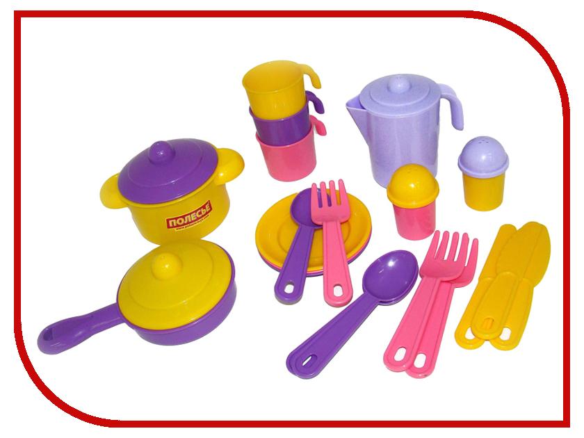Набор посуды ПолесьеНастенька 3919 набор для создания мягкой игрушки настенька