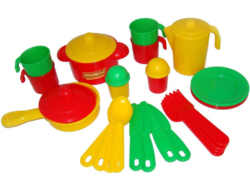 все цены на Набор посуды Полесье Настенька 3926 онлайн
