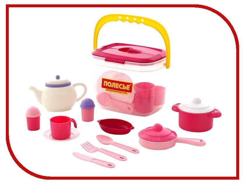 Игра ПолесьеНабор детской посуды Настенька 59031 игра полесьенабор детской посуды top chef с корзинкой 42637