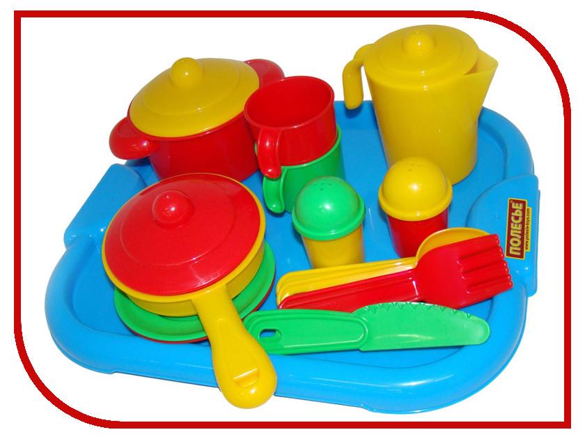 Игра ПолесьеНабор детской посуды Настенька 3940 игра полесьенабор детской посуды top chef с корзинкой 42637