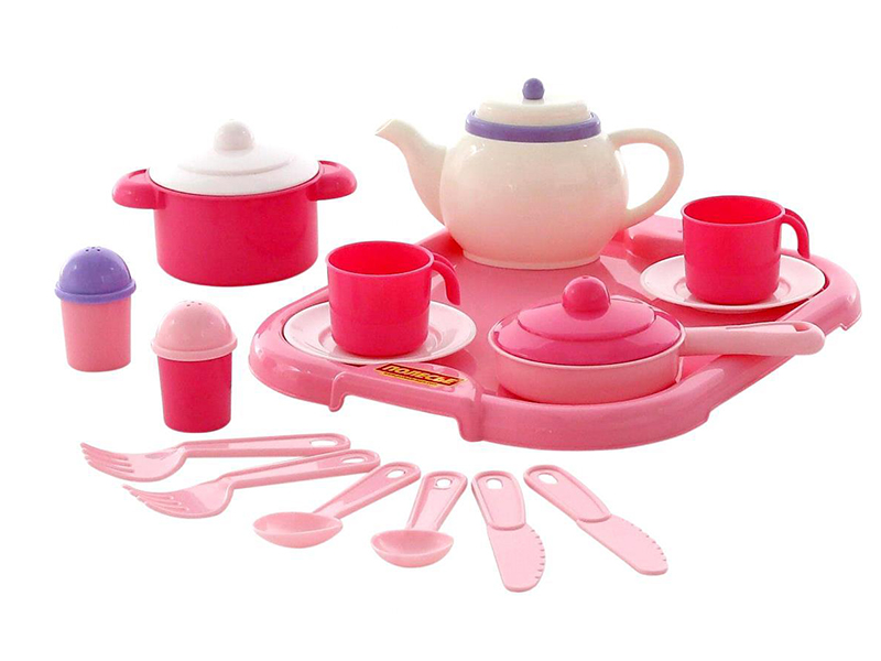 все цены на Набор посуды ПолесьеНастенька с подносом 59000 онлайн
