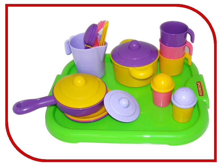 Игра ПолесьеНабор детской посуды Настенька 3957 игра полесьенабор детской посуды top chef с корзинкой 42637