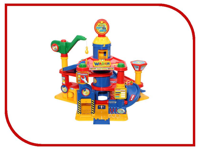 Игрушка Полесье 4-уровневый с автомобилями 37855
