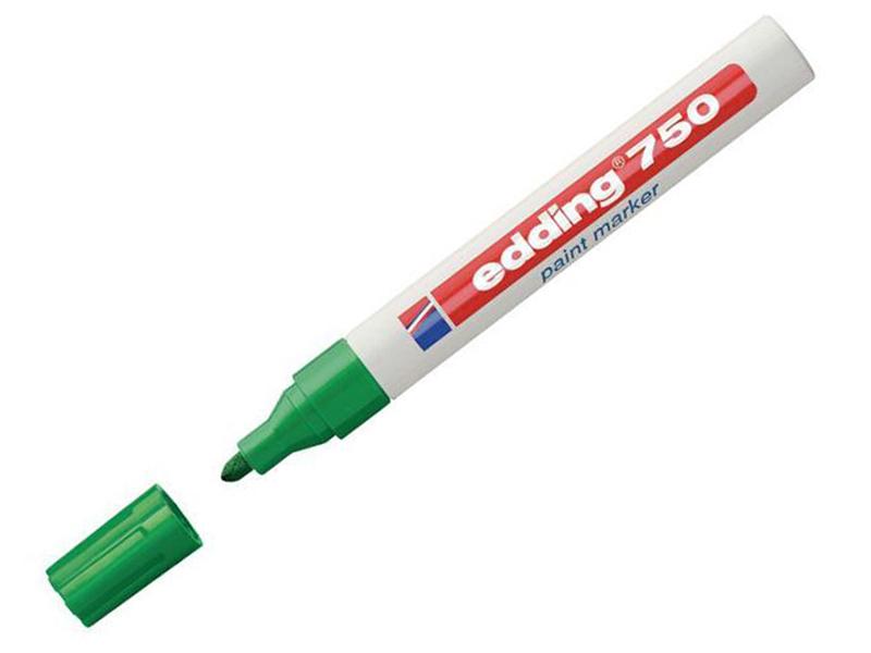 Маркер Edding E-750/4 2-4mm Green 537612