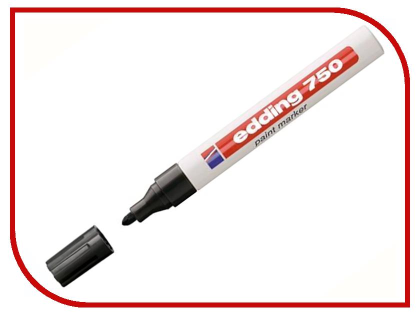 Маркер Edding E-750/1 2-4mm Black 57817 edding e 330 1 b 2