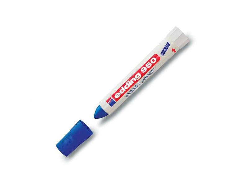 Маркер Edding E-950/3 10mm Blue 35724 маркер edding e 950 1 10mm black 35722
