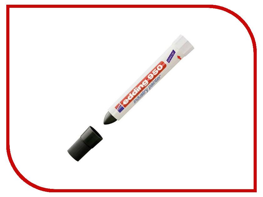 Маркер Edding E-950/1 10mm Black 35722 маркер edding e 2000c 1 1 5 3mm black