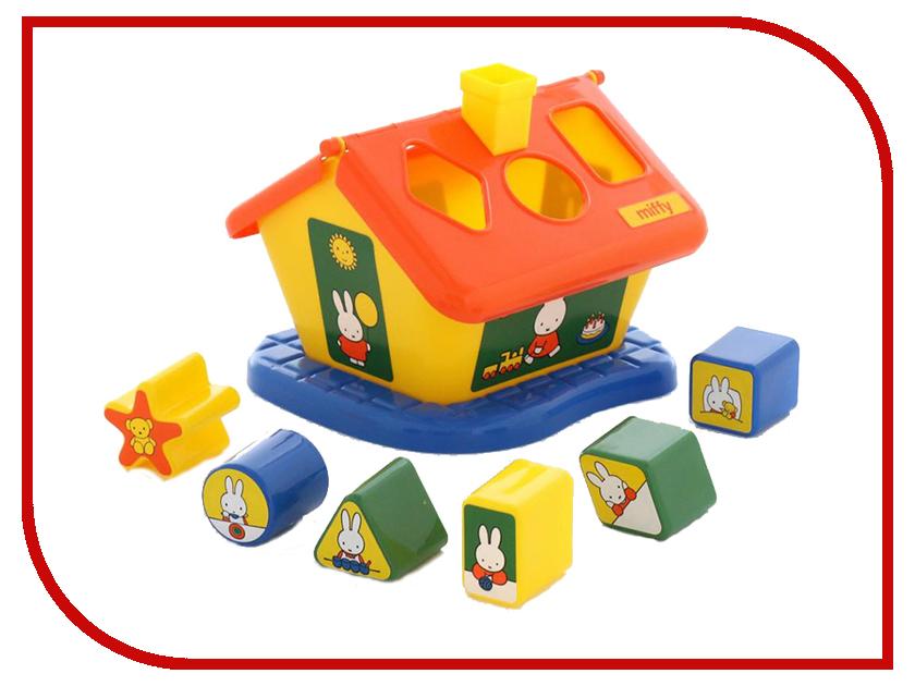 Сортер Полесье Логический домик Миффи с 6 кубиками №3 64288