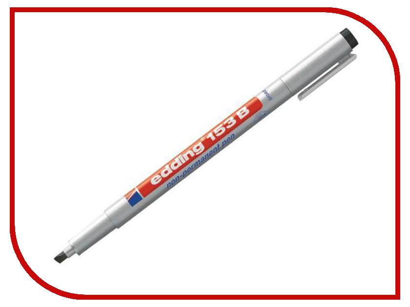 Маркер Edding E-153/1 B 1-3mm Black 537645 маркер edding e 390 1 b 1