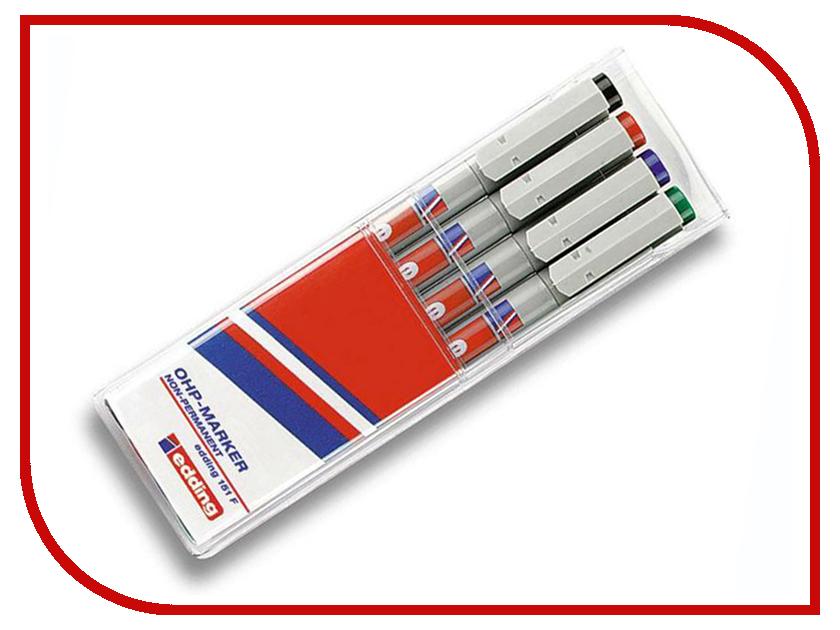 Маркер Edding E-151/4S 0.6mm набор 4шт 51383 dorothy s нome плейсмат набор 4шт принт петухи пвх