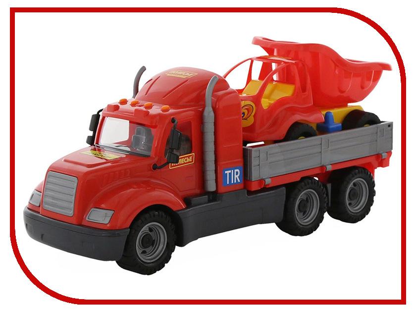 Игрушка Полесье Бортовой автомобиль Майк + автомобиль-самосвал Муравей 55491 полесье грузовик бортовой майк домик для зверей 55521