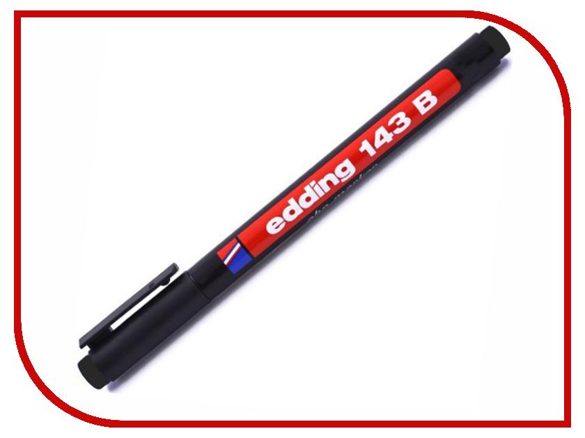Маркер Edding E-143/1 B 1-3mm Black 537634 laete l16 143 1