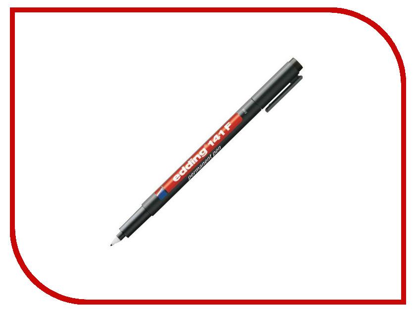 Маркер Edding E-141/1 F 0.6mm Black 537631 маркер edding e 2000c 1 1 5 3mm black