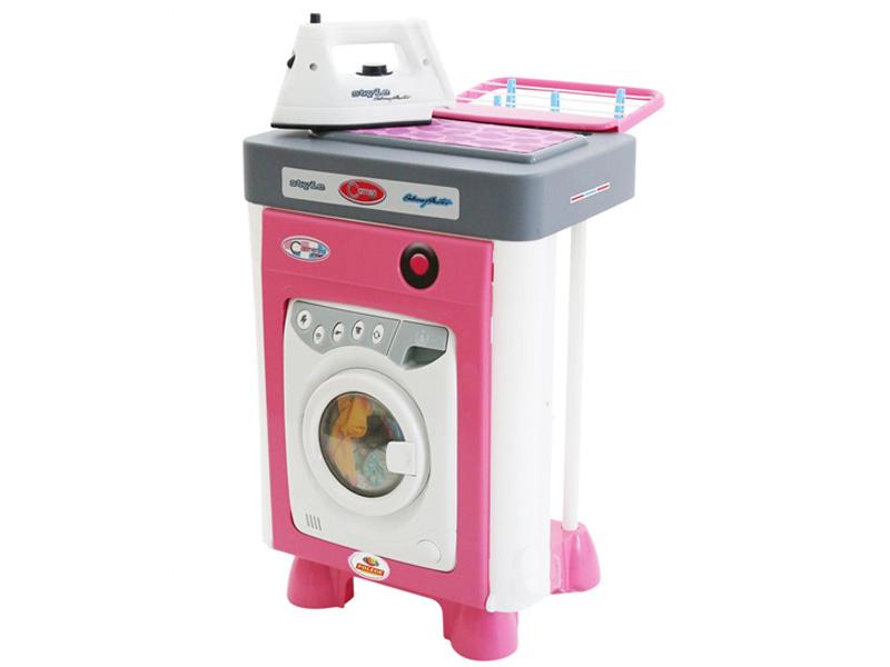 Игровой набор Полесье Carmen №2 со стиральной машиной 57907
