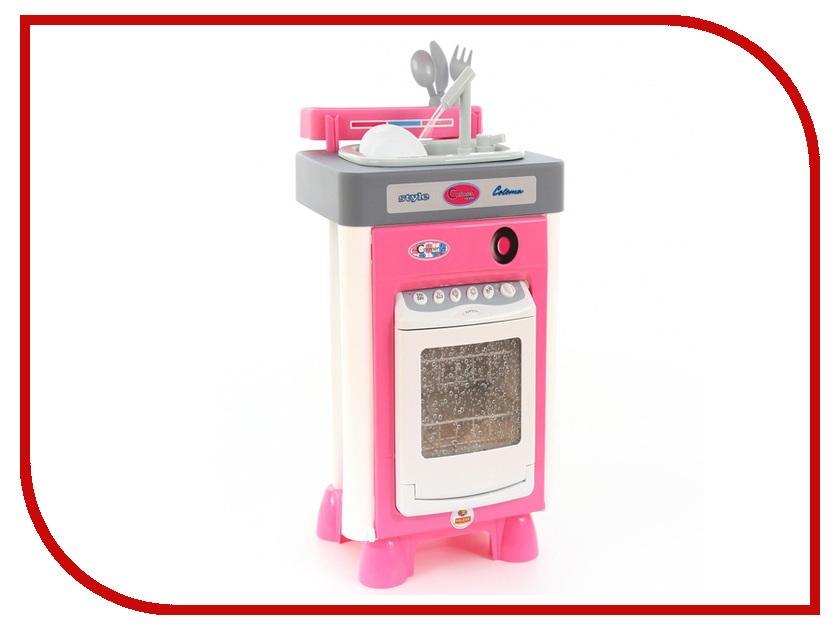 Игровой набор Полесье Carmen №3 с посудомоечной машиной и мойкой 47946 игровой набор полесье carmen 5 с аксессуарами 58843