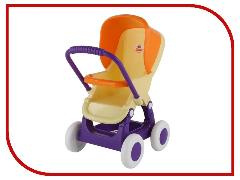 Коляска Полесье Прогулочная 48134 коляска для кукол полесье прогулочная 4 х колёсная в пакете желтый 48134