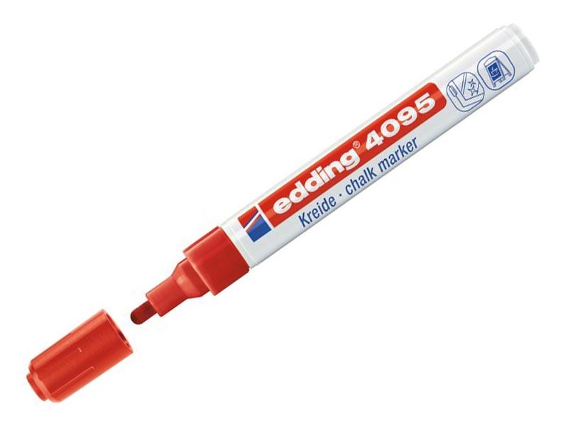 Маркер Edding E-4095 3mm Red 397282