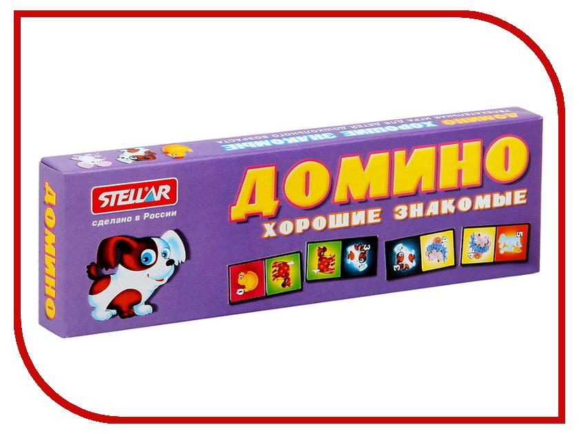 Настольная игра Stellar Домино детское №5 Хорошие знакомые