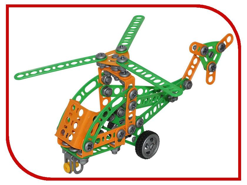 Конструктор Полесье Изобретатель - Вертолёт №1 130 дет. 55026 полесье изобретатель качели 122 эл