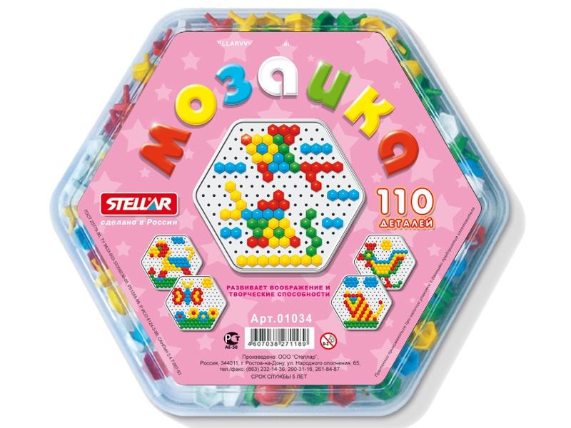 Настольная игра Stellar Мозаика 1034 мягкая игра мозаика птицы 45332