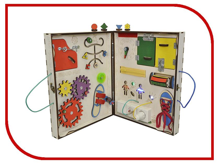 Бизиборд Iwoodplay Складной с электрикой 68x42x5cm ноутбук dell vostro 5568 5568 9982 5568 9982