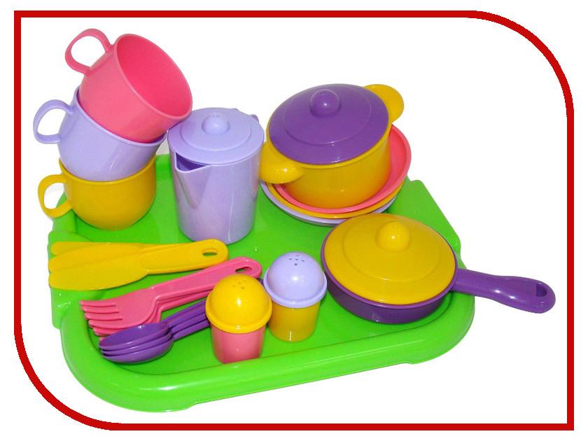 все цены на Игра ПолесьеНабор детской посуды Хозяюшка 4046