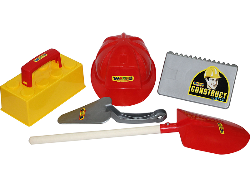 Игрушка ПолесьеНабор каменщика №4 Construct 50526 игрушка полесьенабор каменщика 5 construct 50199