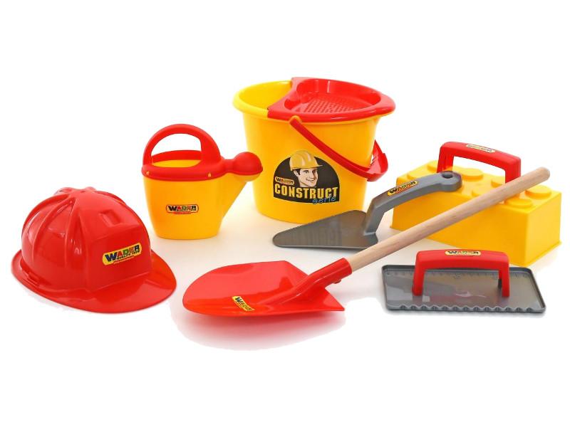 Игрушка ПолесьеНабор каменщика №7 Construct 50632 игрушка полесьенабор каменщика 5 construct 50199