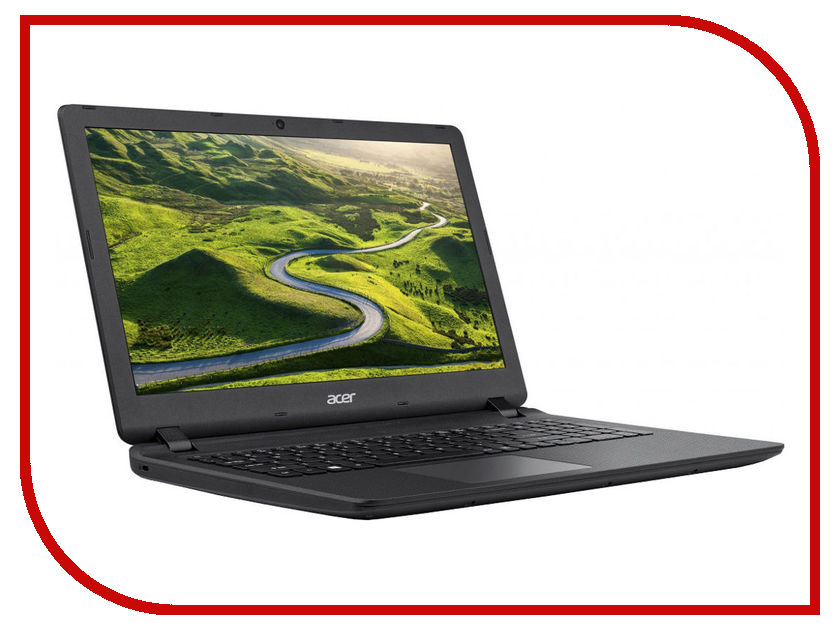 Ноутбук Acer Aspire ES1-572-P61J Black NX.GD0ER.021 (Intel Pentium 4405U 2.1 GHz/4096Mb/500Gb/DVD-RW/Intel HD Graphics/LAN/Wi-Fi/Cam/15.6/1920x1080/Linux) for acer aspire v3 772g notebook pc heatsink fan fit for gtx850 and gtx760m gpu 100% tested